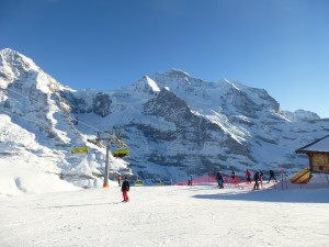 Best skiing at the Jungfrau Region