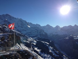 Skitag great skiing Jungfrauregion