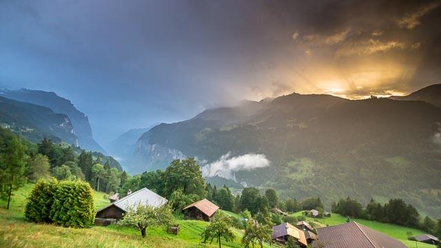 7 Nächte mit Junfrau Pass